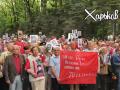 В Харькове 9 мая провели пророссийский марш