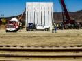 В США представили прототипы будущей стены на границе с Мексикой