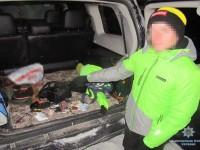 В Киеве мужчина повредил пять авто и украл регистратор