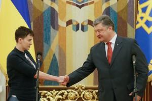 Савченко передала привет россиянам: полный текст выступления