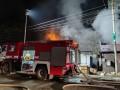 В Киеве ночью горел рынок