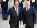 Олланд призвал Путина не признавать выборы на Донбассе