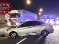 В Киеве ночная погоня с полицией закончилась ДТП