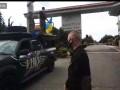 В Киеве протестующие против карантина приехали к дому Зеленского