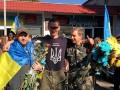 Героические защитники Донецкого аэропорта вернулись домой (фото)