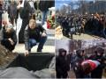 Итоги выходных: похороны Вороненкова, протесты в России и Беларуси