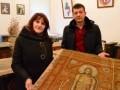 УПЦ МП вернула плащаницу XIX века Национальному музею