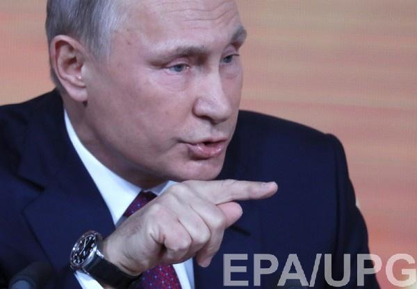 """В своем выступлении Путин сообщил, что Крым """"отдали с нарушениями"""""""