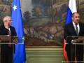 """Глава дипломатии ЕС рассказал, о чем говорил с Лавровым """"за закрытой дверью"""""""