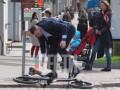 Мэр в нокауте: Кличко по дороге на работу упал с велосипеда