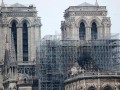 В Париже возобновили реставрацию Нотр-Дама
