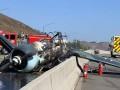 В США на трассу упал раритетный самолет Люфтваффе