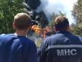 МВД: В результате пожара на нефтебазе под Киевом погибли четыре человека