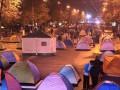 В Кишиневе противники президента перекрыли главный бульвар