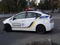 В Кропивницком авто патрульных врезалось в фуру