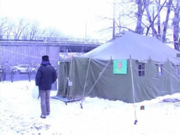 Из-за сильных морозов вКиеве открыли неменее 100 пунктов обогрева. Адреса расположения