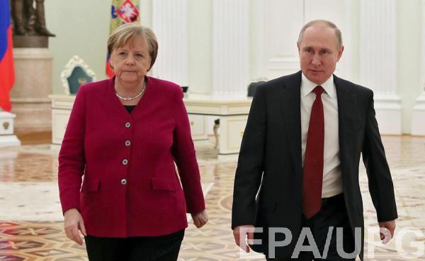 Меркель выдвинула требование Путину из-за армии у границ с Украиной
