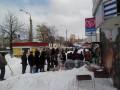 Киевляне страдают от нехватки хлеба и мяса (ФОТО)