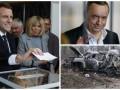 Итоги выходных : Выборы во Франции, суд над Мартыненко и подрыв машины ОБСЕ