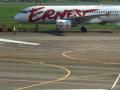 В Жулянах в самолет врезался погрузчик и сорвал рейс