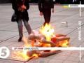 В Симферополе прошли акции в поддержку ТС