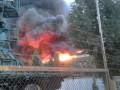 Под Львовом горела военная часть: Один офицер погиб
