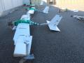 Россияне показали беспилотники, которые атаковали их базу