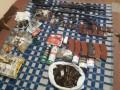 Житель Никополя перепродавал оружие из зоны ООС