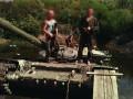 Боевики на Донбассе утопили украинский танк