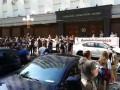 Под ГПУ митинг: активисты требуют осудить заказчиков убийства Гандзюк
