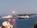 В Севастополе на День ВМФ неудачно запустили ракету