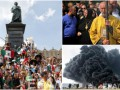 День в фото: Крестный ход в Киеве, пожар в Германии и Всемирный день молодежи в Кракове