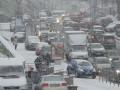Киев с утра сковали пробки