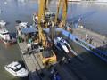 Трагедия на Дунае: спасатели поднимают затонувшее судно