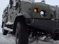 Украинская бронетехника досрочно передала ВСУ автомобили Варта