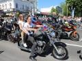 Первомай в Симферополе: карнавал и байкеры