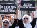 В Вашингтоне арестованы сотни протестующих против Трампа
