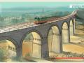 Украинская марка с мостом, как в