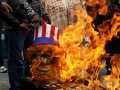 В Боливии демонстранты сожгли флаги США и стран Европы