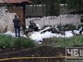 В Черниговской области самолет упал во двор дома