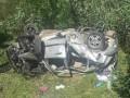 Авто превратилось в груду металла, слетев под мост в Одесской области