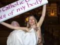 FEMEN провели акцию в католическом соборе в Швеции, протестуя против законопроекта в Испании