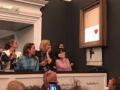 Картина Бэнкси самоуничтожилась сразу после ее покупки за $1,3 млн