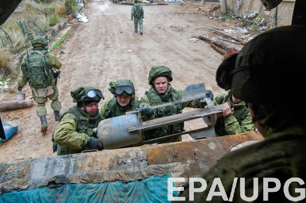 Российское Министерство обороны отрицает гибель солдат в Сирии