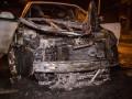 В Киеве горели сразу семь автомобилей