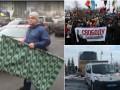 Итоги выходных: одеяло для Луценко, протесты в Киеве и антипольский инцидент во Львове