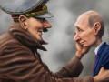 На российском ТВ заявили, что Путин осуществил проект Гитлера