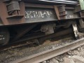 В Днепропетровской области вагон сошел с рельсов из-за воров металлолома