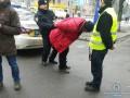 В Киеве дедушка-
