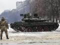 Гройсман показал современный украинский танк Оплот